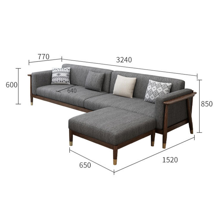 2020 sofas for home solid wood 3 2 1 seater fabric cheap minimalist simple modern best living room frame business office sofa