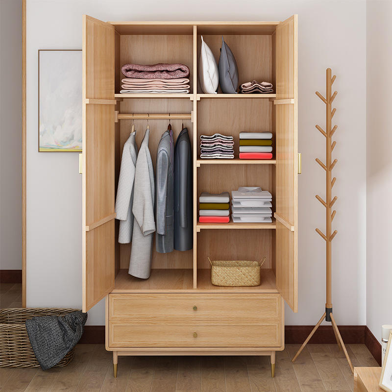 amoires wardrobe wood bedroom furniture with price small with mirror pull out door black white storage latest design for room