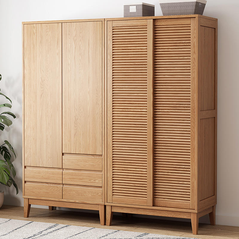 home furniture wooden wardrobe cabinet bedroom clothes design pictures decorative 1 set 2 doors hot sale cheap for living room