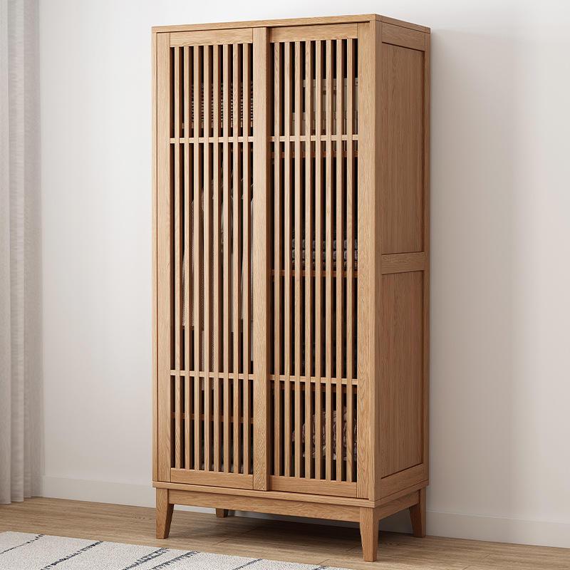 2020 large new design assembled double door design cupboards and wardrobes wooden storage design for bedroom