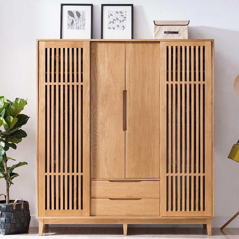 2020 fair price simple pratical cheapest multifunctional bedroom wooden wardrobe system for clothes design