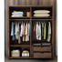 Solid wood moderncupboards and wardrobes designbedroom closet wood built in wardrobewooden cabinet support customized