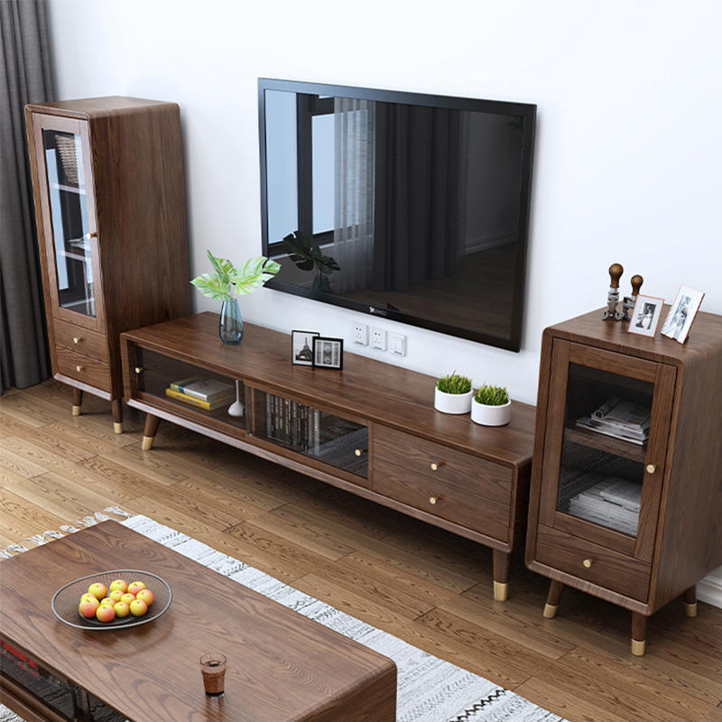 High quality modern custom wooden wine rack cabinet with glass door wine storage cabinet furniture for kitchen furniture
