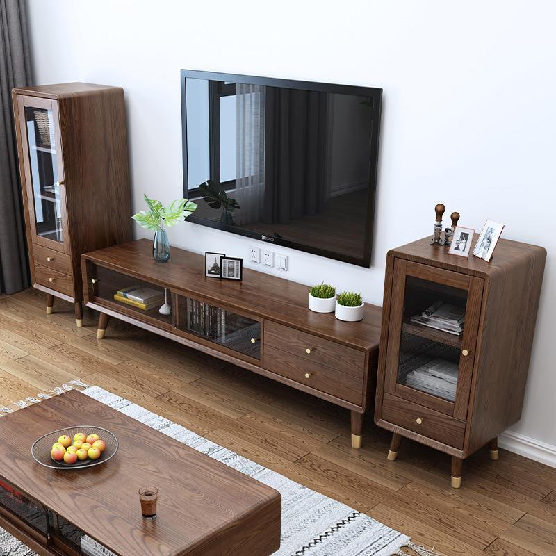 Modern custom supported wooden low wine rack cabinet fashion design wine storage cabinet furniture for kitchen