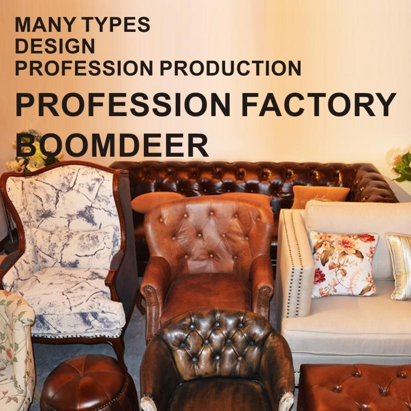solid wood living room sofa fabric accent chair Classic solid luxury living room furniture sofa 1 seat living room sofa sets