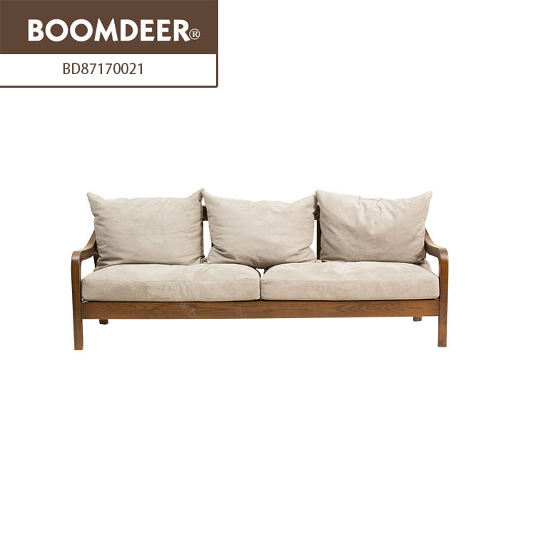 simple solid wood furniture living room designs modern wooden set fabric beds sofa
