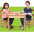 Hot sale New Design DIY Wooden kids furniture Stablesolid wood table desk