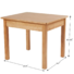 Kids Solid Wood Table & Chairs Children wooden table set (Sturdy Wooden table, 3-Piece Set, Great Gift for Girls and Boys)