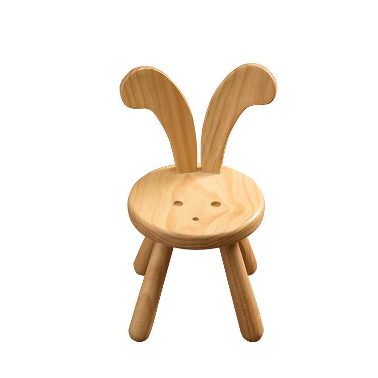 Hot selling high quality asian furniture cute cartoon children chair children wooden chair