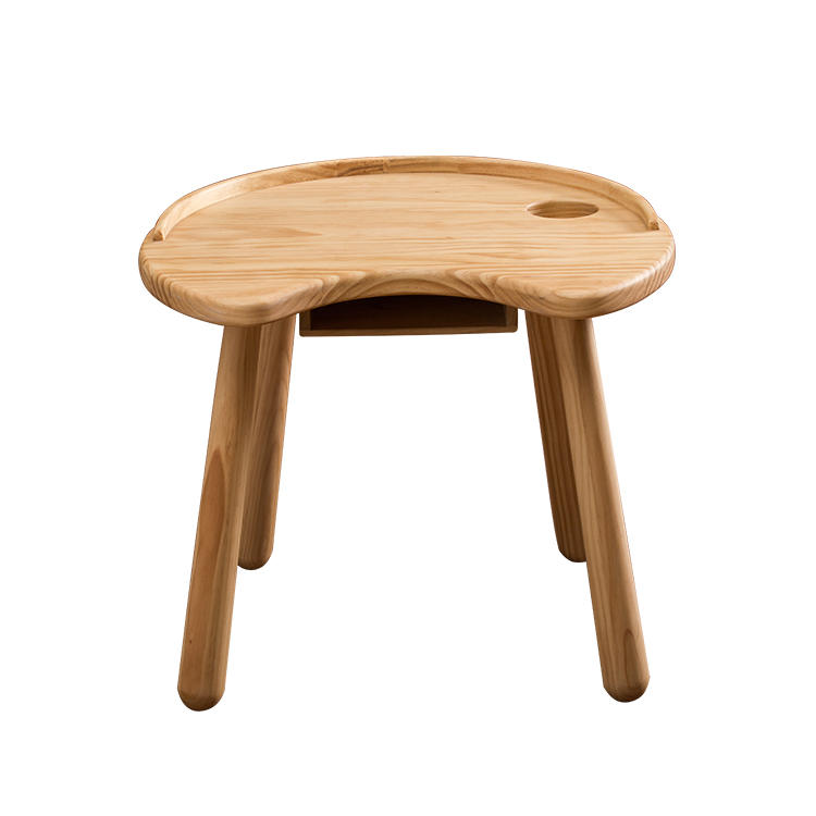 Kids Natural Wood Children Furniture Baby High Chair Dining Baby TableFor Baby Nursery Furniture Sets