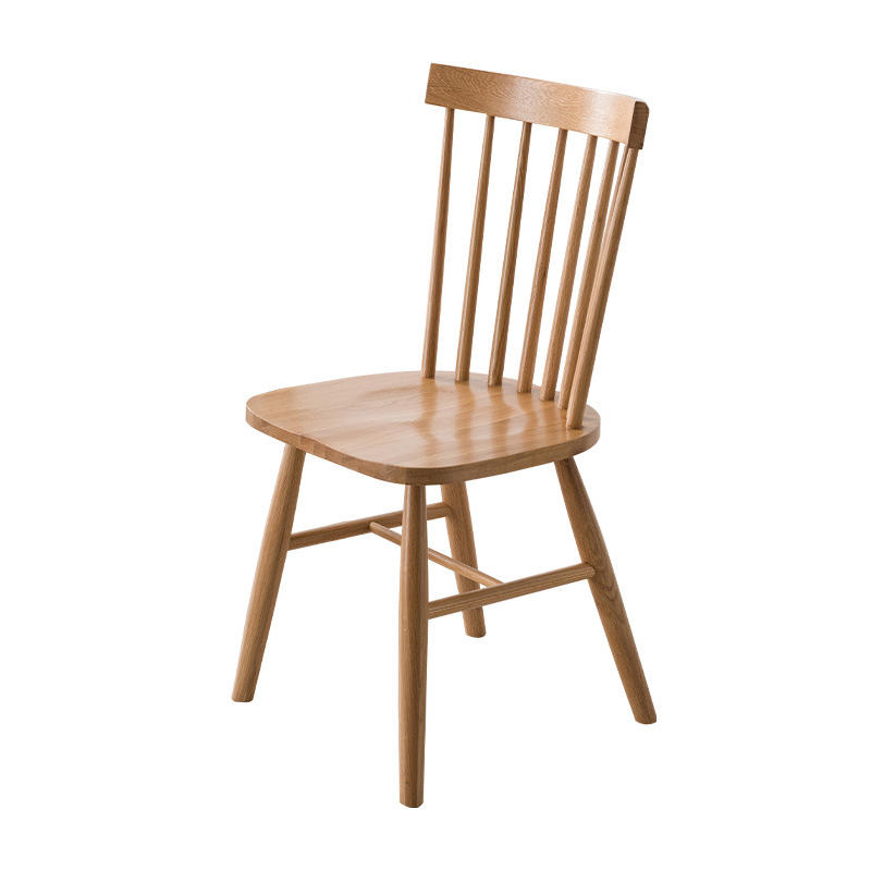 Cross Back Wood Restaurant Chair Dining Chair Design For Coffee Shop Bar