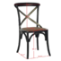 Back Cross Dining Wooden Room Wood French Design Upholstered Furniture Antique Wholesale High Cheap Restaurant Chair