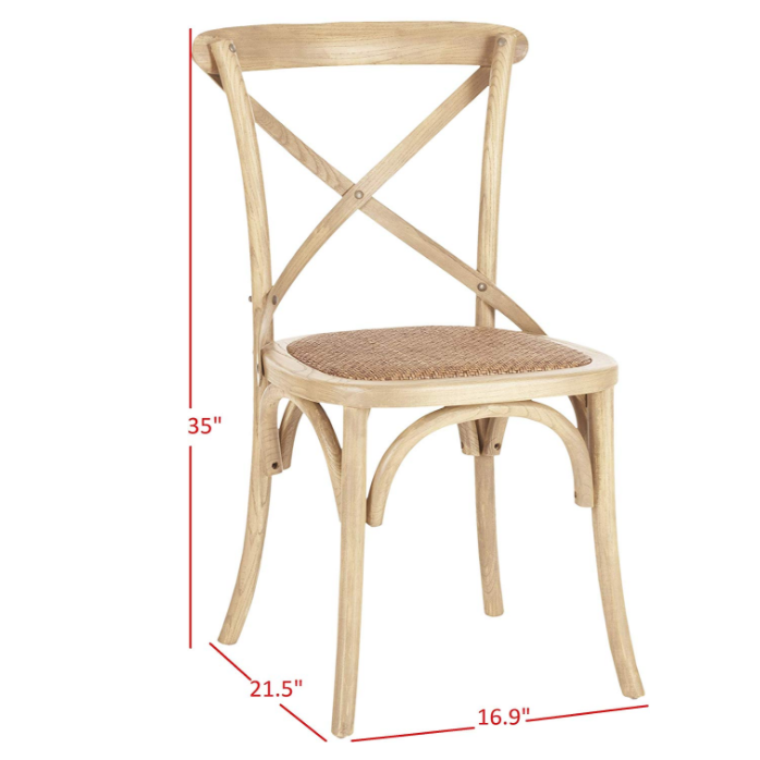 Back Cross Restaurant Wooden Room Wood French Design Upholstered Furniture Antique Cheap Wholesale High Dining Chair