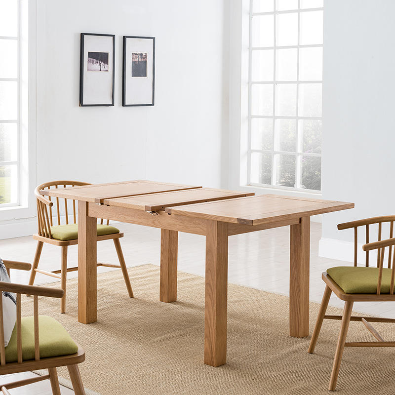 wooden dining tables for restaurant expandable designer rectangular extending foldable indoor rustic europe style modern compact