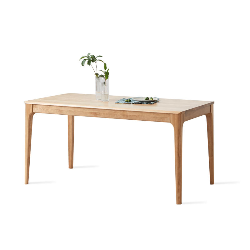 Wooden luxury modern dining set table 4 seater dining table wood dining room or rastaurtant furniture wooden design