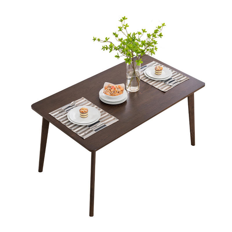 home furniture luxury solid wood dining table set long modern chinese nordic wedding restaurant
