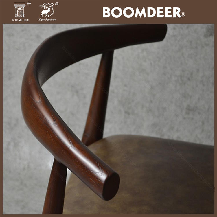 Hot selling High quality classic wooden Solid FurnitureFinish dinining chair