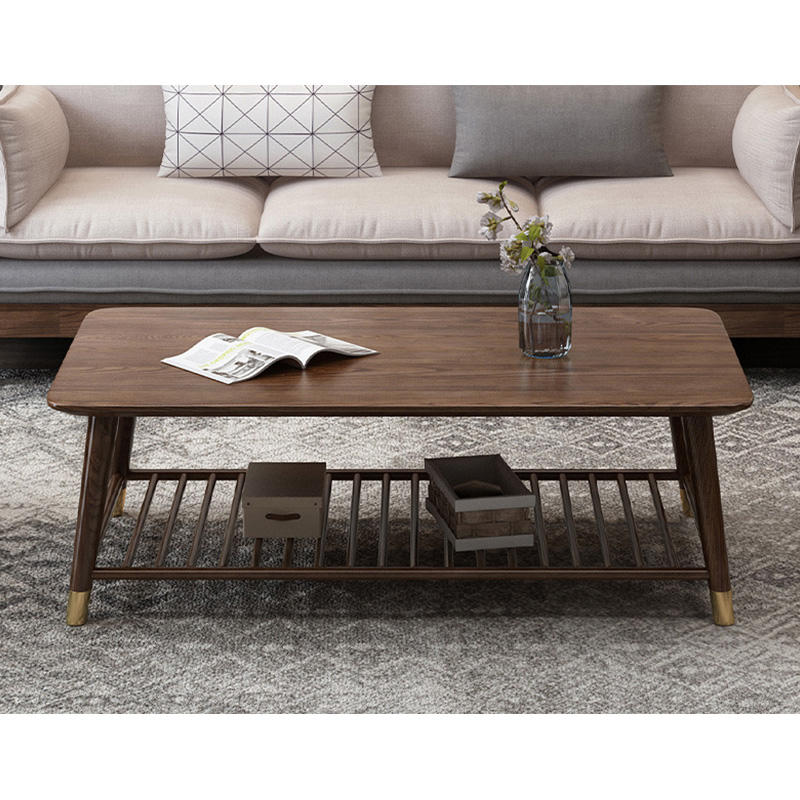 2020 Chinese Factory High Quality Nordic Style best selling Unique Design Wooden Tea Cafe Table For Living Room