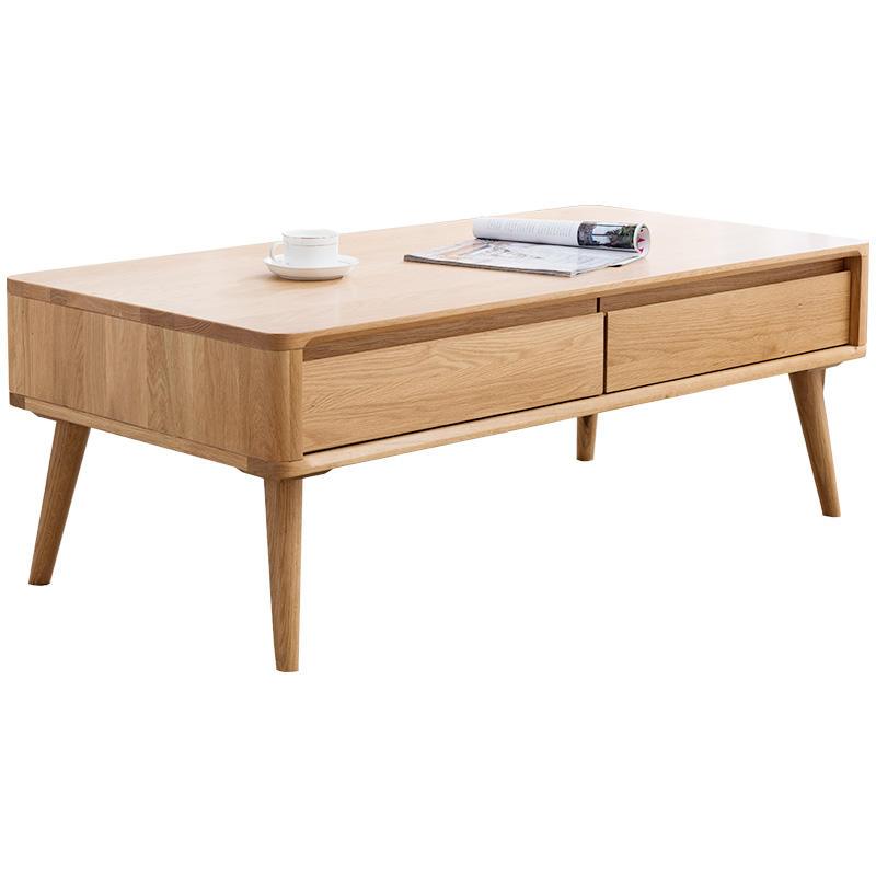 living room furniture design wooden coffee table wooden Chinese tea table modern coffee table support customization