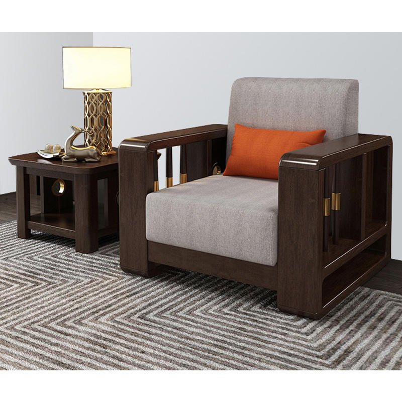 High quality morden customizable simple design beautiful wood grain square wooden corner cafe coffee table for home furniture