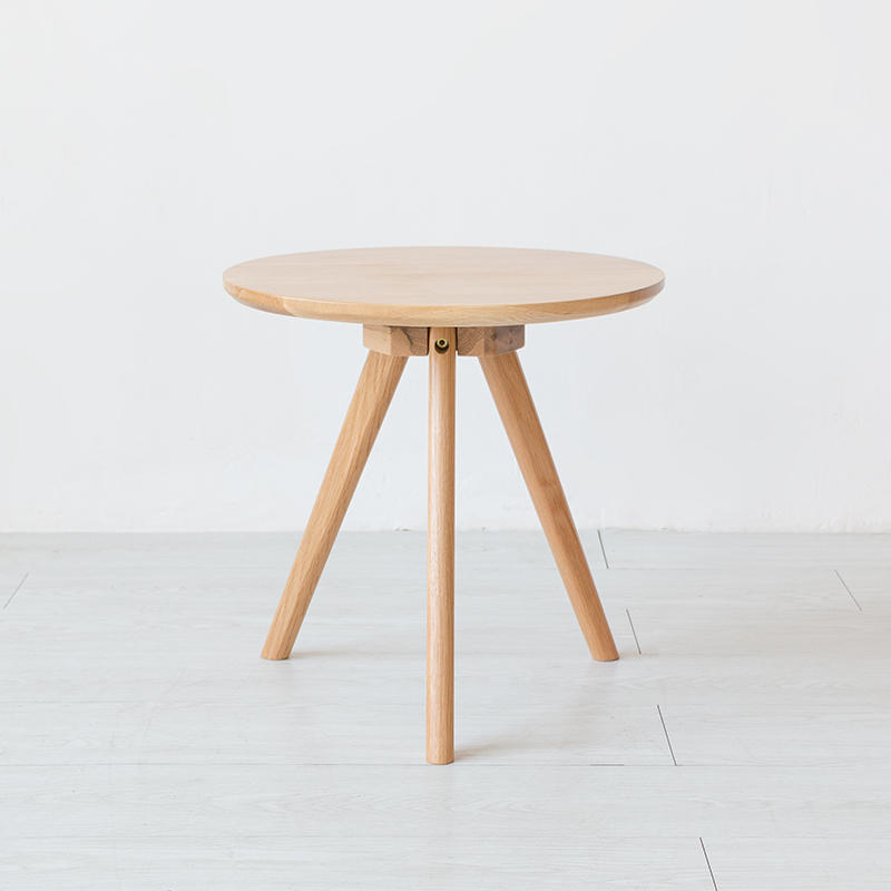 Solid oak wood modern fashion design coffee tea table livingroom furniture set