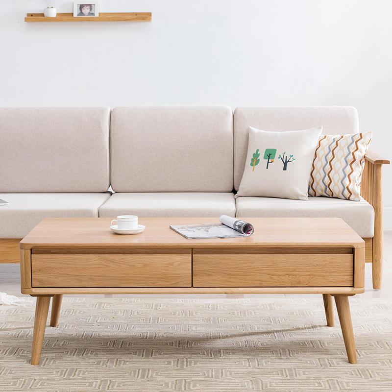 Modern Living Room Furniture Wood Designs Wooden Set Sets Oak Coffee Table