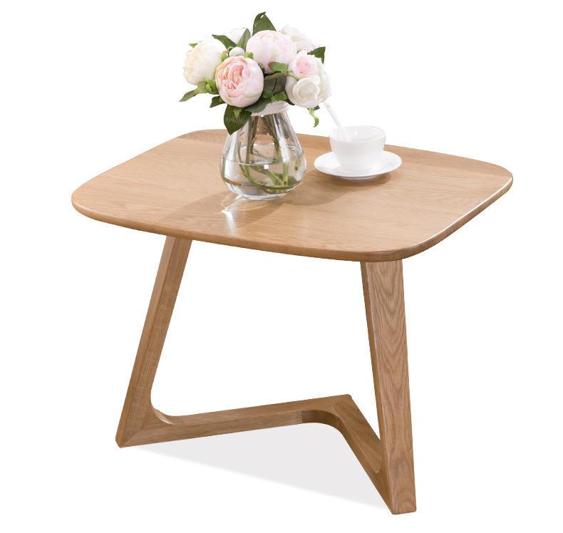 Modern simple design hotel Sofa tea table latest living room furniture wooden tea table design coffee table