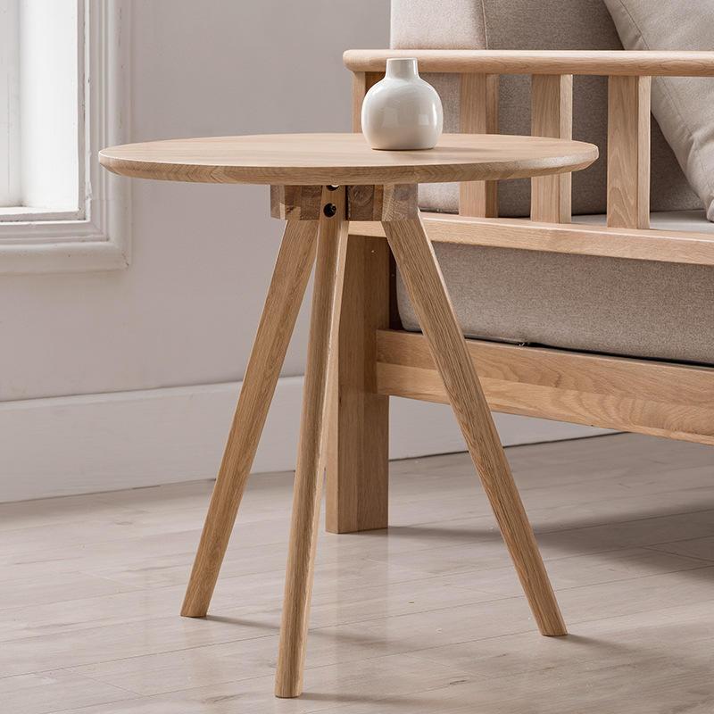 3 Set Simple Lounge Square Wood Pine Room Nesting Coffee Table