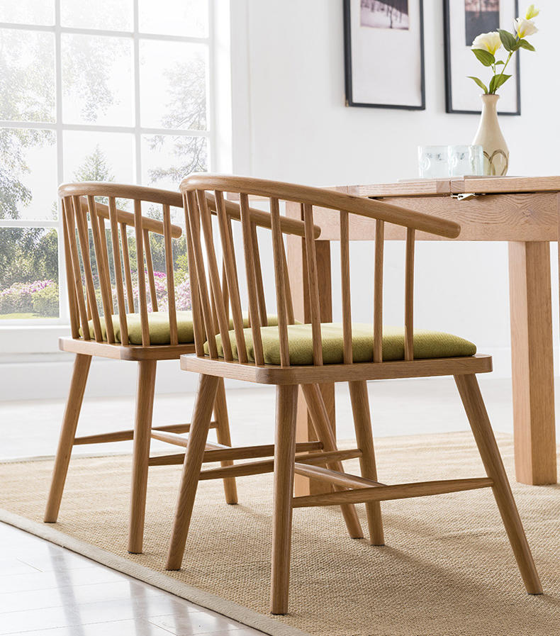 morden design dining room high quality hot sale modern solid wood dining room furniture white oak dining chair