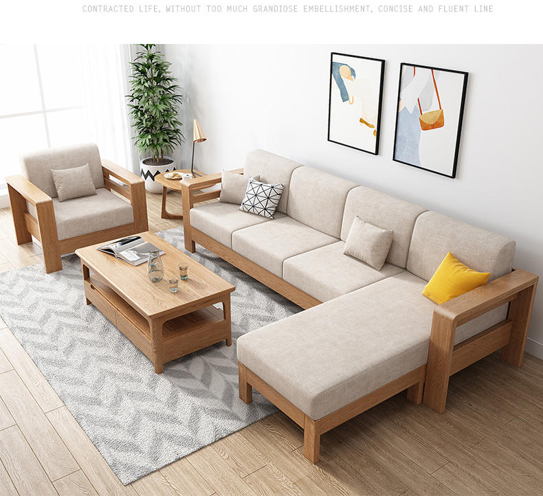 BOOMDEER morden customdesign living room Special Offer morden Fabric one two three and four solild woodsofa with Prince lie
