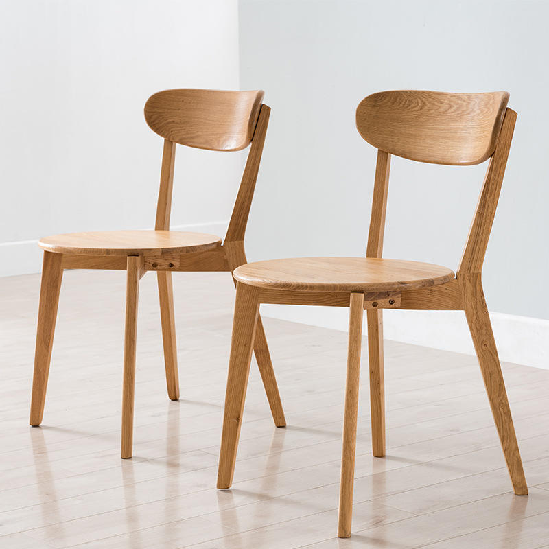 Modern Style HomeFurniture Solid Wood Dining Room Sitting Chair Set