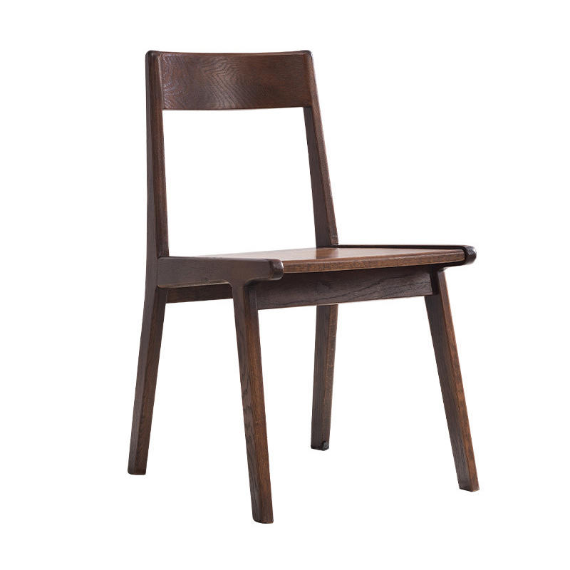High quality solid wood dining single wooden chair family set
