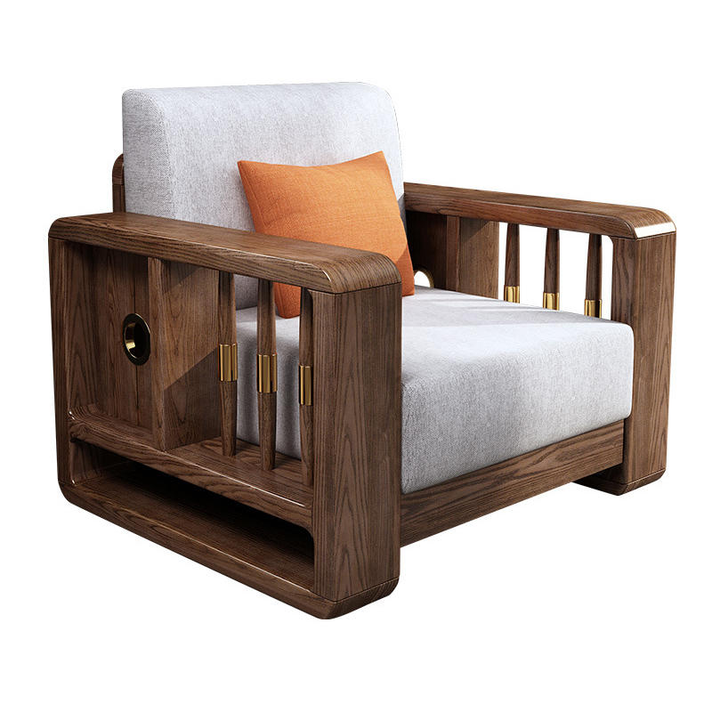 Shaped Sets Sectional Model Wood Chair Drawing Room Set Oak Solid Frame White Nepal Furniture Living Wooden L Sofa