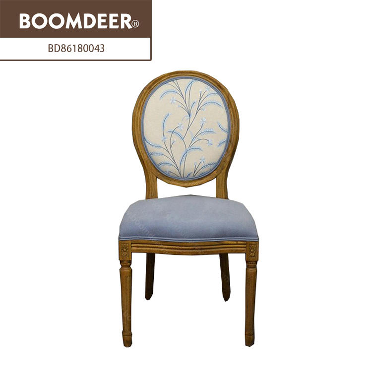 french style Boomdeer high quality accent chairs swan chair leather office chair