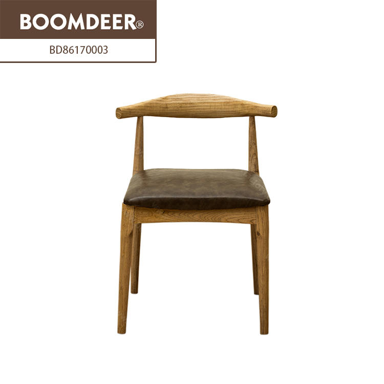 High quality classic furniture wooden Finish dining chair bar office chair