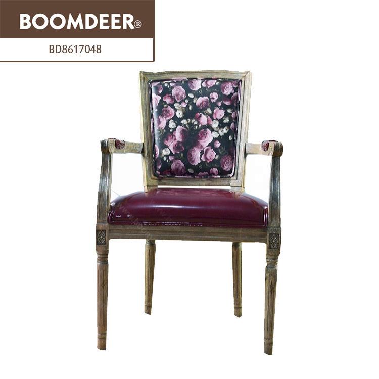 Boomdeer classic furniture high chair wood chair