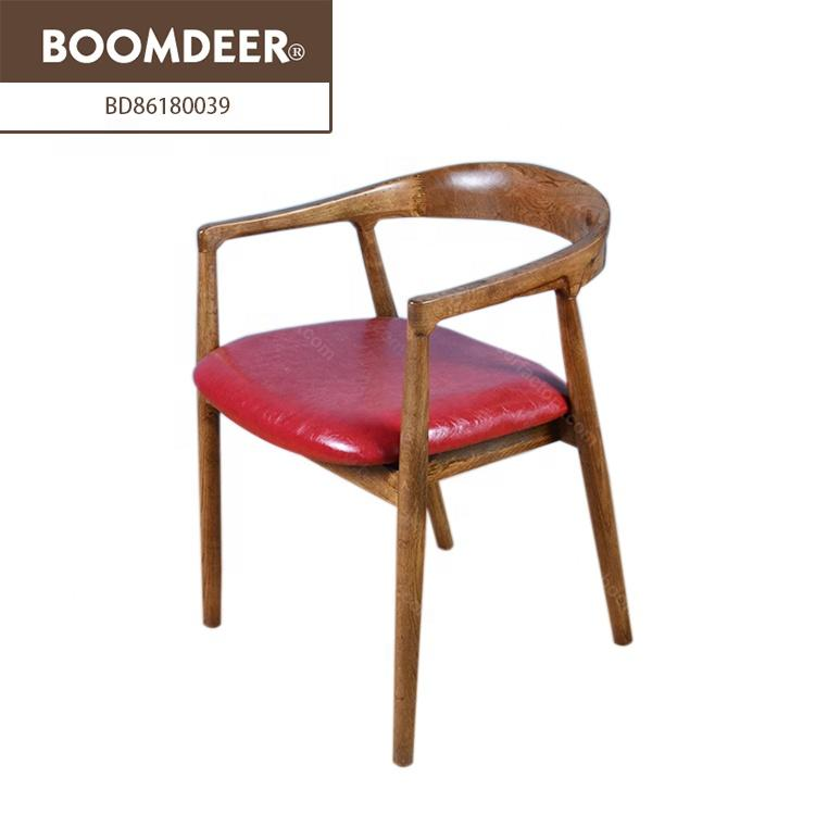Hot selling classic furniture solid wood coffee dining chair sets