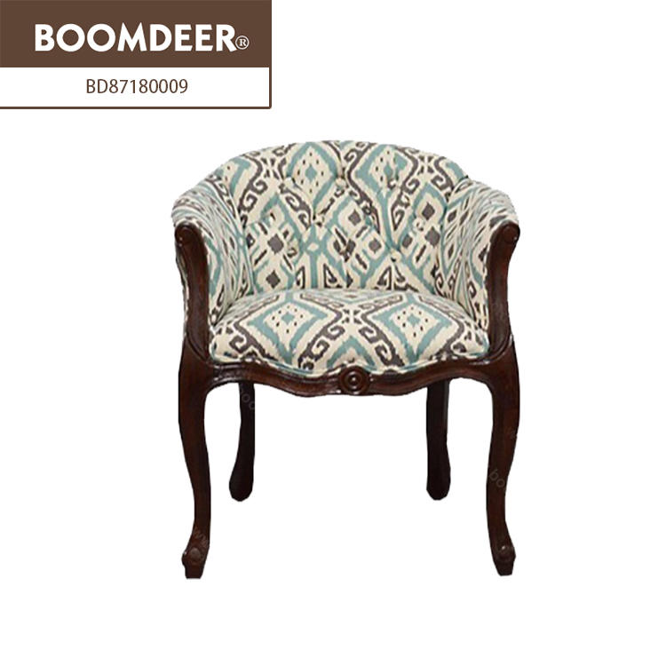 Hot sale new design accent chairs single wooden sofa chair living room sofa