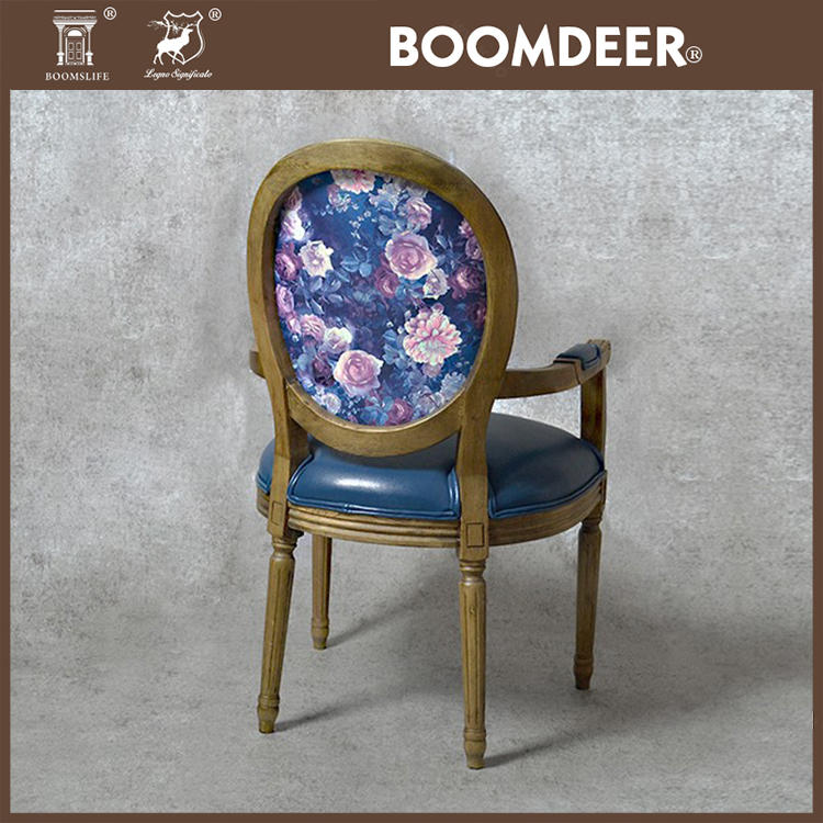 Boomdeer Hot selling high quality solid accent chairs swan chair leather office chair