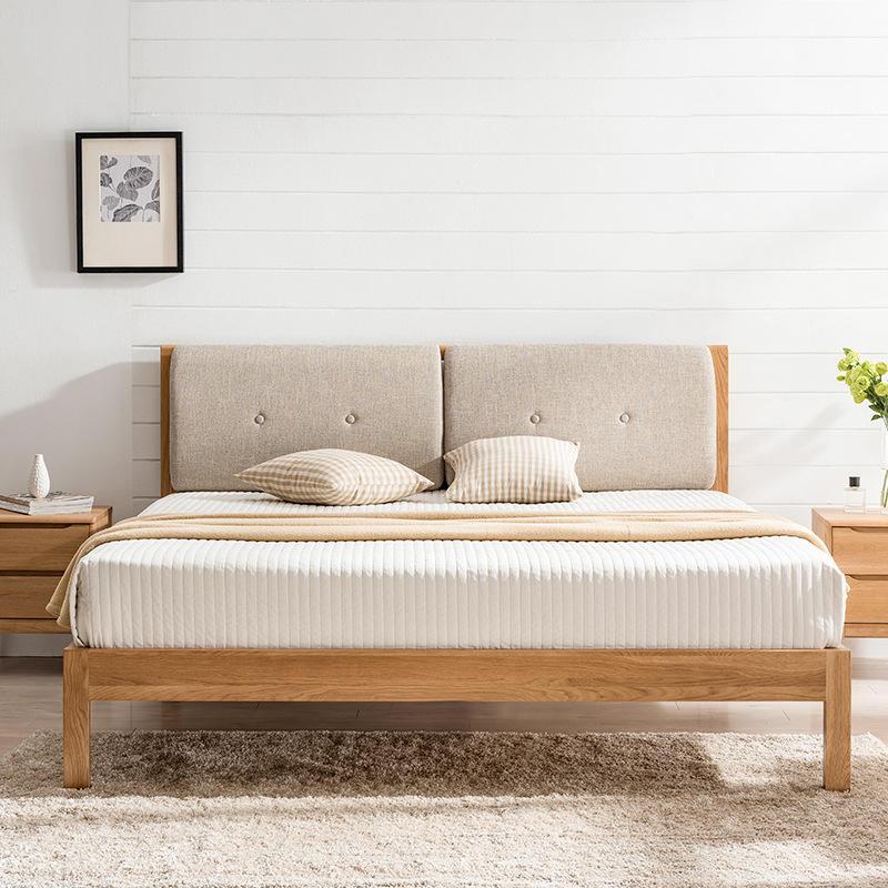 2020 hot selling multifuntion modern design good quality full size soild wooden bed design furniture
