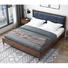 Boomdeer net red ins storage special offer latest Customizable design modern useful Individuality 1.5m solid wood bed furniture