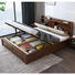 Boomdeer useful special offer latest Customizable design multifunctional storage double 1.5m solid wood bed furniture bed frame