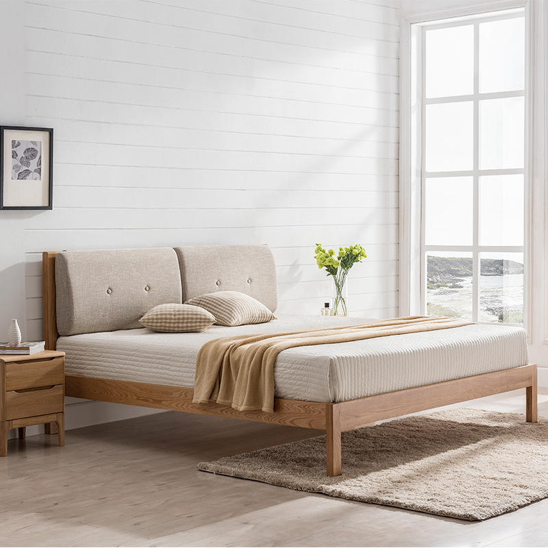 net red special offer latest design modern solid wood bed furniture bed frame