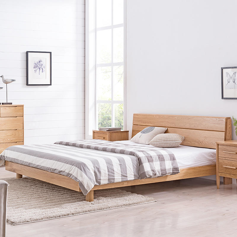 New Design Solid Wood Bed wooden Bedroompirate design bed