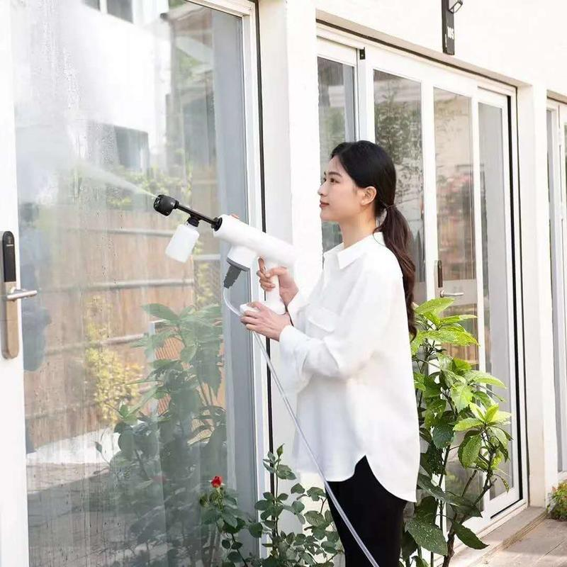high pressure cordless car care tools car washer car washing gun 20v charging lithium battery