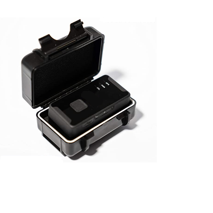 waterproof magnetic case for protect GPS tracker device