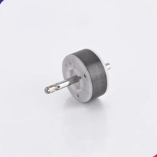 Custom Plastic Hard Ferrite Ceramic Magnet Rotor for Motors