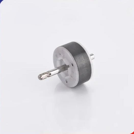 Custom Plastic Hard Ferrite Ceramic Magnet Rotor for Motors
