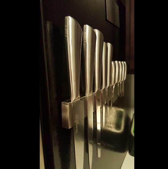 Stainless Steel Magnetic Knife Holder, Knife Strip, Tool Holder