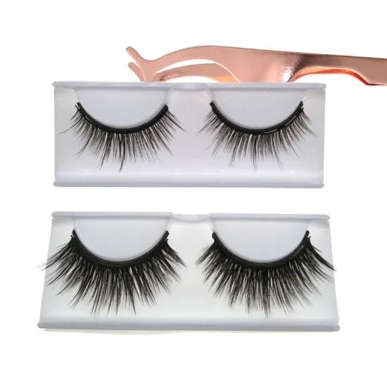 Wholesale Magnetic Eyelashes and Eyeliner Custom Magnetic Eyelashes with Tweezers
